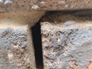 Wall Breather Gap Closeup